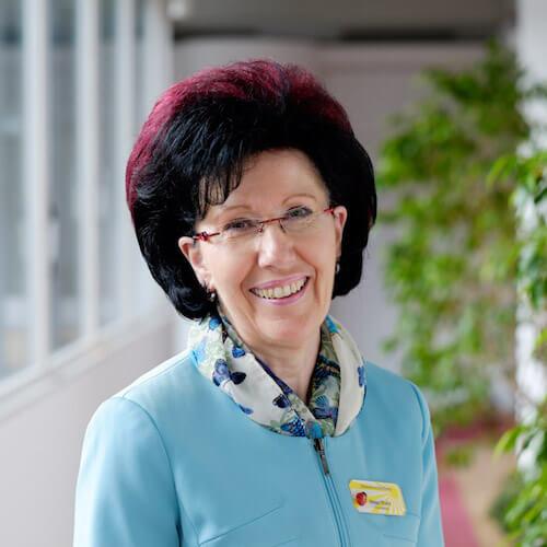 Porträt von Helga Pfaffe